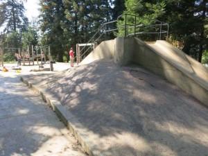 Dracena Park concrete slope