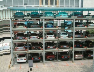 Chinese 6 level puzzle parking