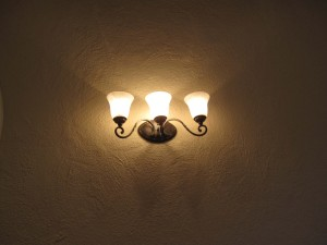 new wall sconces